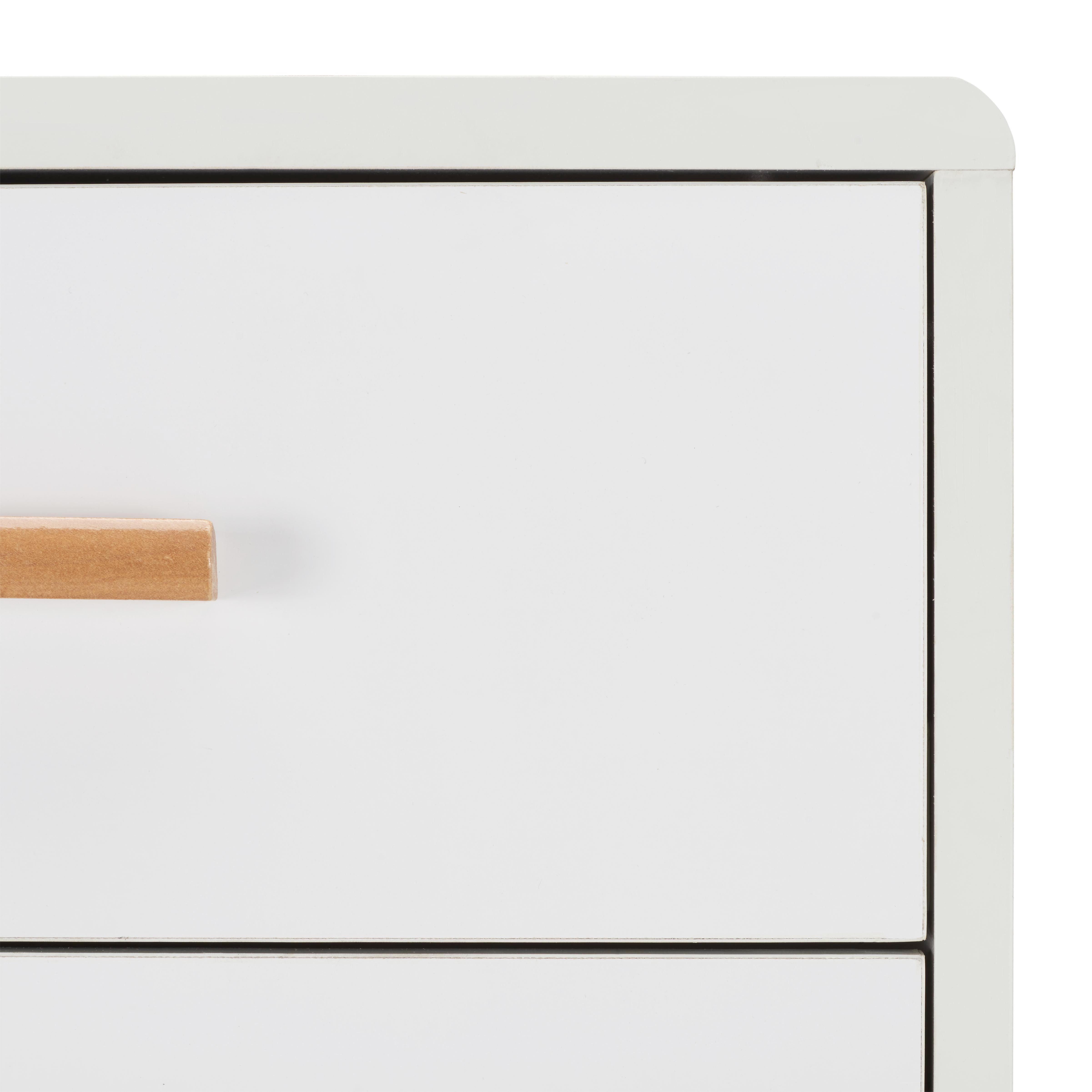 Kommode Claire - Braun/Weiß, MODERN, Holz (40/100/39cm) - MÖMAX modern living
