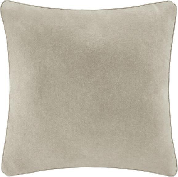 Zierkissen Carolyn 45x45cm - Naturfarben, MODERN, Textil (45/45cm) - Mömax modern living