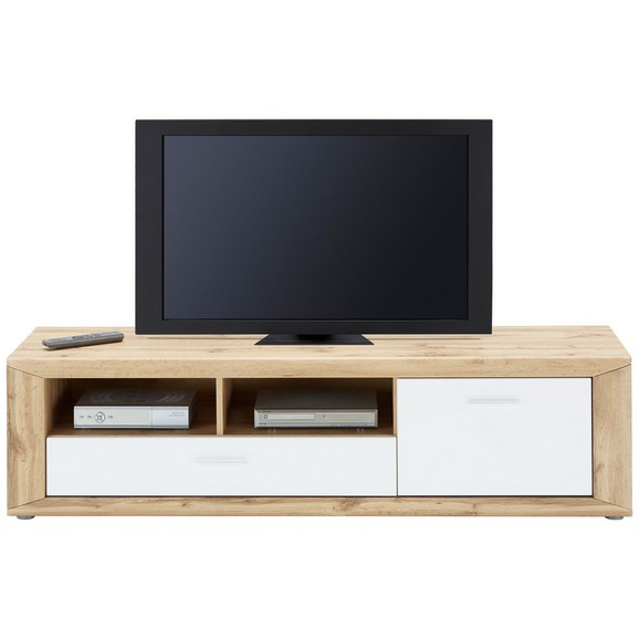 tv element wei eichefarben online kaufen m max. Black Bedroom Furniture Sets. Home Design Ideas