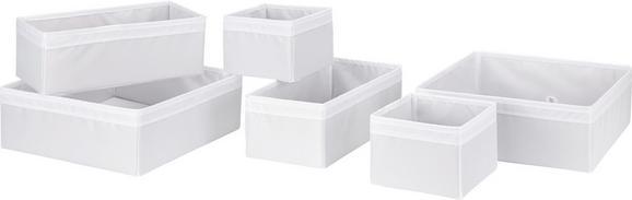 Aufbewahrungsboxen-Set Kläck in Weiß - Weiß, KONVENTIONELL, Kunststoff - Mömax modern living