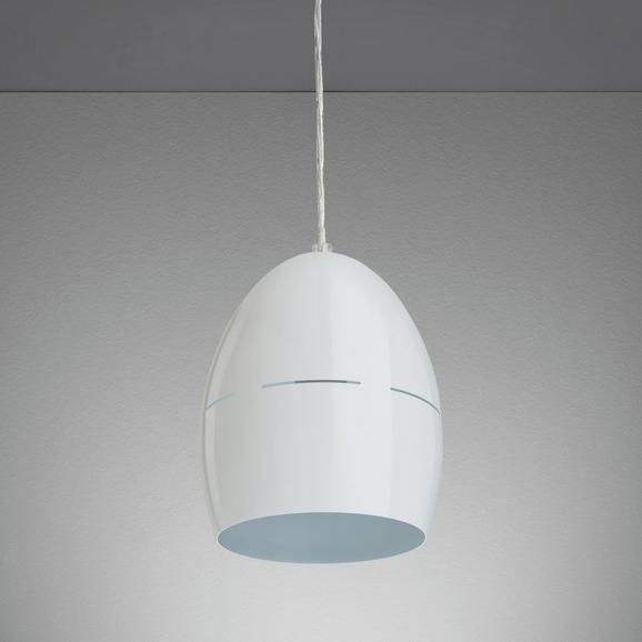 Hängeleuchte Bora - Weiß, MODERN, Metall (16,5/16,5/127cm) - Mömax modern living