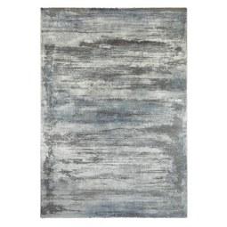 Webteppich Oxford 3 ca. 160x230cm - Blau/Grau, Basics, Textil (160/230cm) - Mömax modern living