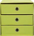 Schubladenbox Mona in Gelb ca. 32x31,5cm - Gelb, MODERN, Karton/Textil (32/31,5/32cm) - Mömax modern living