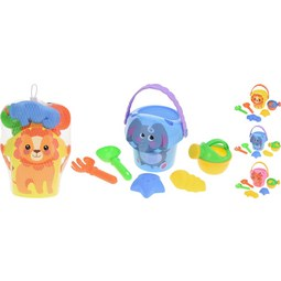 Sandspielzeug Annabell in versch. Farben - Blau/Pink, Kunststoff (10/16cm)