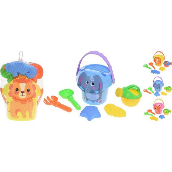 Sandspielzeug Annabell verschiedene Farben - Blau/Pink, Kunststoff (10/16cm)