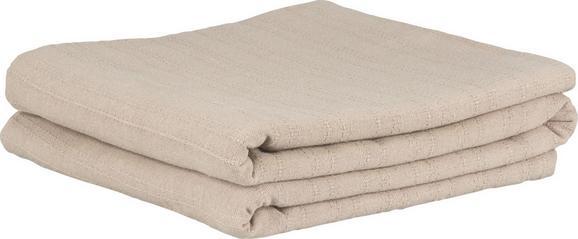Überwurf Solid One, ca. 240x210cm - Grau, Textil (240/210cm)