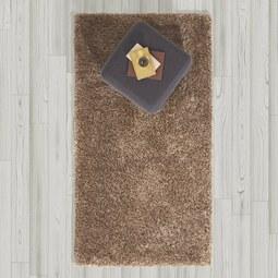 Hochflorteppich in Braun ca. 80x150 cm 'Shaggy' - Braun, MODERN, Textil (80/150cm) - Bessagi Home