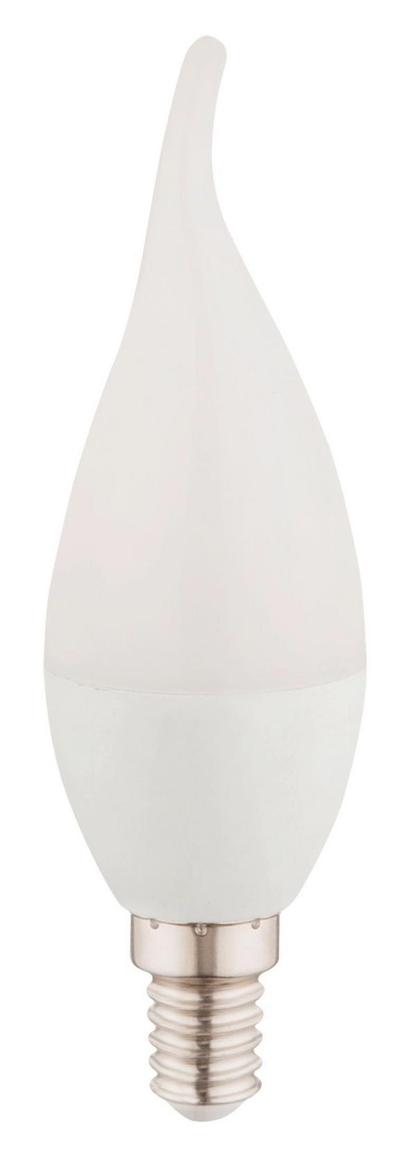 LED-Leuchtmittel 10604w-2, max. 3 Watt - Opal, Kunststoff/Metall (3,7/12,3cm)