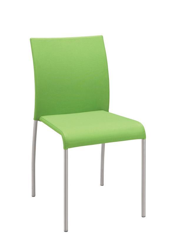 Stol Günther - aluminij/zelena, Moderno, kovina/tekstil (55/85/45cm) - MÖMAX modern living