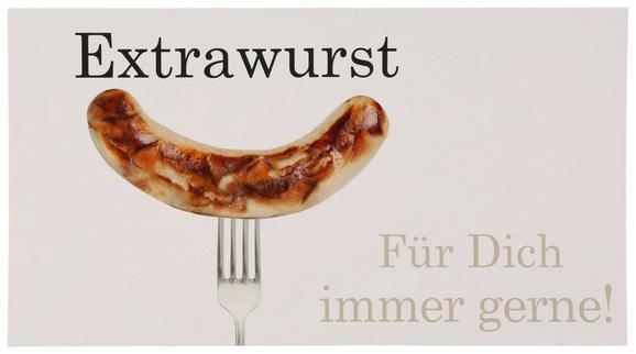 Postkarte Michael, ca. 12,5x23cm - Schwarz/Braun, Papier (12,5/23cm) - Mömax modern living