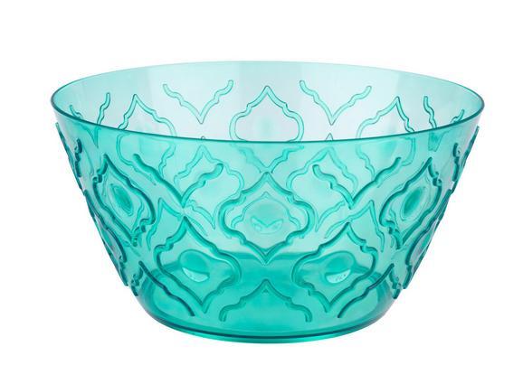 Salatschüssel Azza in verschiedenen Farben - Blau/Pink, LIFESTYLE, Kunststoff (26cm) - MÖMAX modern living