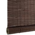 Rollo Woody Braun 100x180cm - Dunkelbraun, LIFESTYLE, Holz (100/180cm) - Mömax modern living