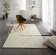Tkana Preproga Berlin 3 - rumena/bela, tekstil (160/230cm) - Mömax modern living
