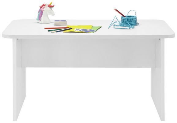 Kindertisch in Weiß - KONVENTIONELL, Holzwerkstoff (110/55/65cm) - MODERN LIVING