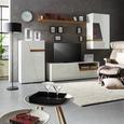 Relaks Fotelja Benni - smeđa/crna, Modern, metal/tekstil (76/97-109/76-107cm) - Modern Living