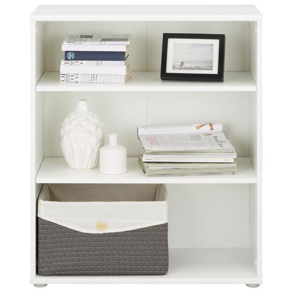 Regal Weiß - Weiß, MODERN, Holzwerkstoff/Kunststoff (72/85/34cm)