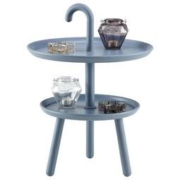 Kisasztal Jacky Grey -trend- - kék/szürke, modern, műanyag (42/56cm) - MÖMAX modern living