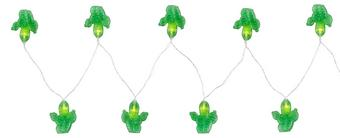 Lichterkette Birthday aus Kunststoff - Klar/Grün, Kunststoff (195cm)