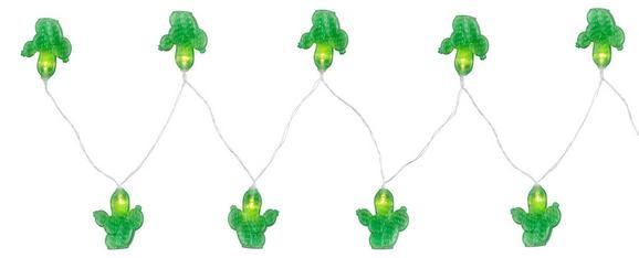 Lichterkette Birthday max. 0,06 Watt - Klar/Grün, Kunststoff (195cm)