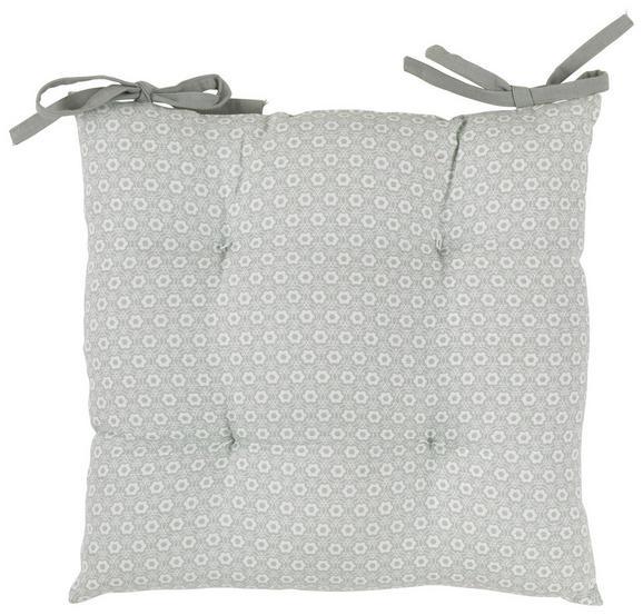 Sedežna Blazina Ameline - svetlo zelena, Romantika, tekstil (40/40cm) - Zandiara