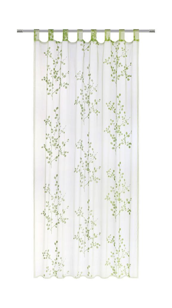 Zavesa Z Zankami Christina - roza/siva, tekstil (140/245/cm) - Mömax modern living