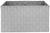 Korb Charlotte L Hellgrau - Hellgrau, Kunststoff/Metall (37,5/27,5/20,5cm) - Mömax modern living