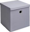 Box Maik - 2er Set - Grau, MODERN, Textil (30/30/30cm) - Modern Living