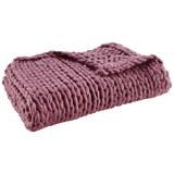 Decke Berita ca.130x170cm in Pink - Pink, Textil (130/170cm) - Mömax modern living