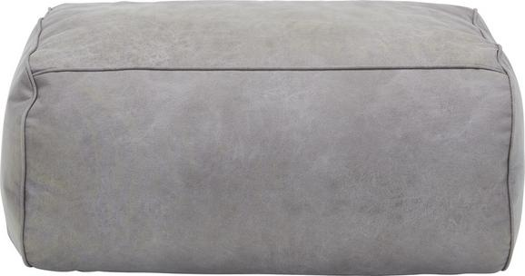 Hocker in Grau - Grau, Textil (90/40/60cm) - MODERN LIVING