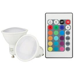 LED-Leuchtmittel 106752-2, max. 4 Watt - Weiß, Kunststoff (5/5,4cm)