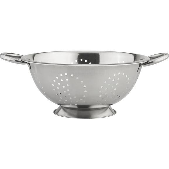 Küchensieb MAGNUS aus Edelstahl - Edelstahlfarben, Metall (26,2/10,5cm) - Mömax modern living