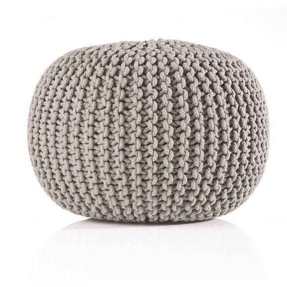 Sitzkissen Aline Grau ca. 50x30cm - Grau, Textil (50/30cm) - Premium Living