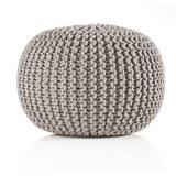 Sitzkissen Aline in Grau, ca. 55x35cm - Grau, Textil (55/35cm) - Premium Living