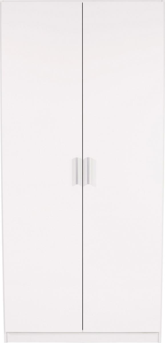 Omara Za Oblačila Celle - aluminij, Moderno, umetna masa/leseni material (91/197/54cm) - Premium Living