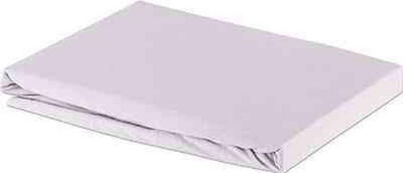 Spannleintuch Basic In Platin, ca. 150x200cm - Silberfarben, Textil (150/200cm) - Mömax modern living
