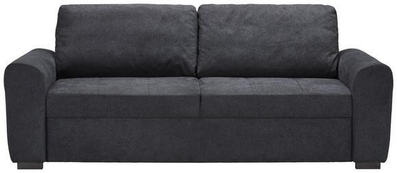 Zweisitzer-Sofa in Anthrazit - Anthrazit, MODERN, Textil (212/95/74cm) - Modern Living