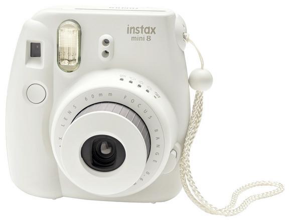 Polaroidni Fotoaparat Lilly - bela, umetna masa (11,5/12,0/6,5cm) - Mömax modern living