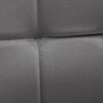 Sessel Merlin inkl. Hocker - Grau, MODERN, Holz/Textil (71/98/80cm) - Bessagi Home