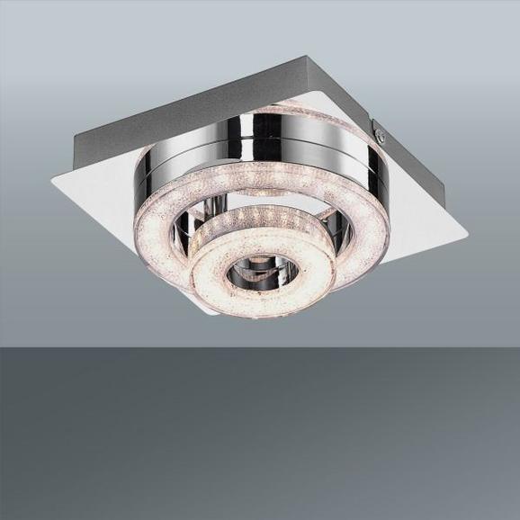 LED-Deckenleuchte Tim, Max. 2,85 Watt - Chromfarben, MODERN, Metall (17/17/13cm)