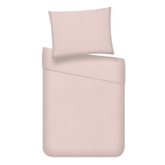 Lenjerie De Pat Stone Washed Uni - roz, Romantik / Landhaus, textil (140/200cm) - Modern Living