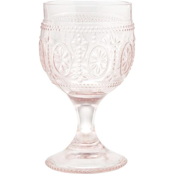 Rotweinglas St. Remy ca. 240ml - Rosa, ROMANTIK / LANDHAUS, Glas (8,5/15cm) - Mömax modern living