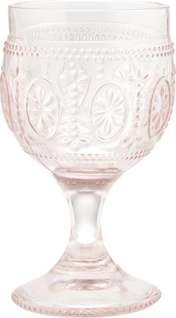 Rotweinglas St. Remy in Rosa, ca. 240ml - Rosa, ROMANTIK / LANDHAUS, Glas (8,5/15cm) - Mömax modern living