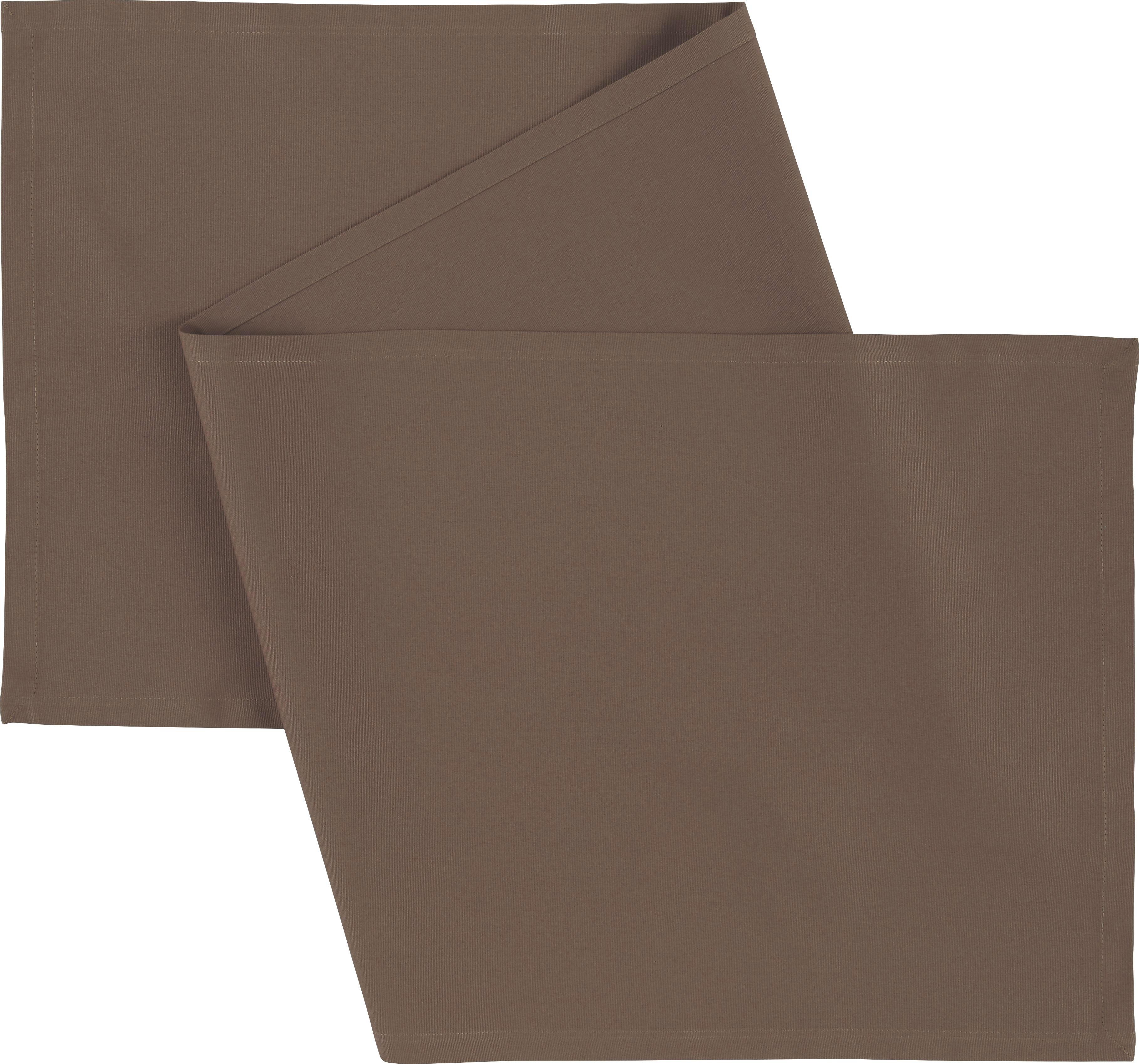 Asztali Futó Steffi - szürkésbarna, textil (45/150cm) - MÖMAX modern living
