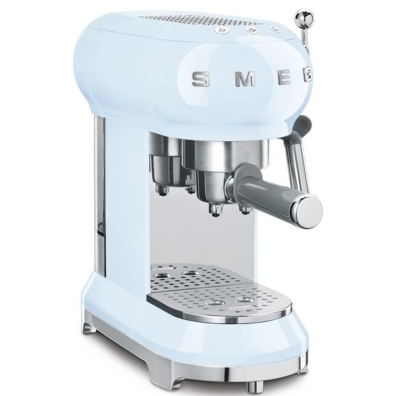Espressomaschine Smeg Ecf01pbeu Pastellblau - Pastellblau (33/14,9/30,3cm) - SMEG