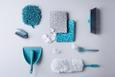 Bodentuch Paula 3-teilig - Opal/Rosa, MODERN, Kunststoff (50/60/1cm) - Mömax modern living