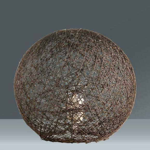 Namizna Svetilka Sophia - rjava, tekstil (30cm) - MÖMAX modern living