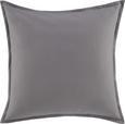 Zierkissen Sonja, ca. 45x45cm - Grau, Textil (45/45cm) - Mömax modern living