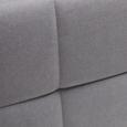 Boxspringbett in Grau ca. 180x 200cm inkl. Topper 'Jerry' - Grau, MODERN, Holz/Textil (210/188/118cm) - Bessagi Home