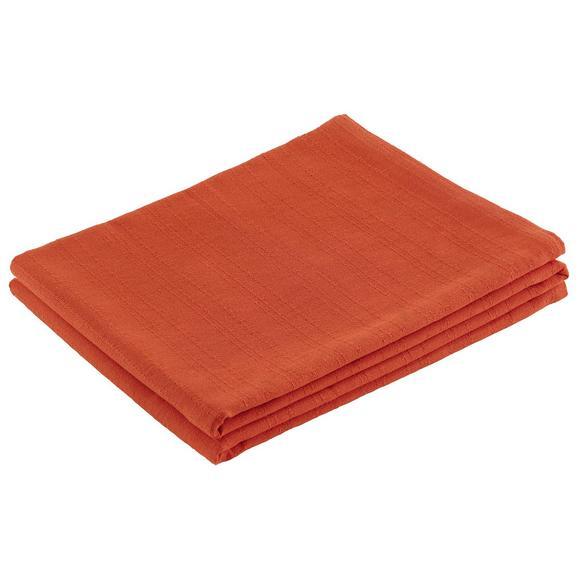 Pregrinjalo Solid One -ext- - oranžna, tekstil (140/210cm)