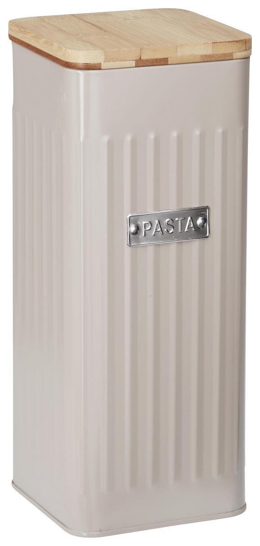 Box mit Deckel Cosima Taupe - Taupe, MODERN, Holz/Metall (11/11/28cm) - Zandiara